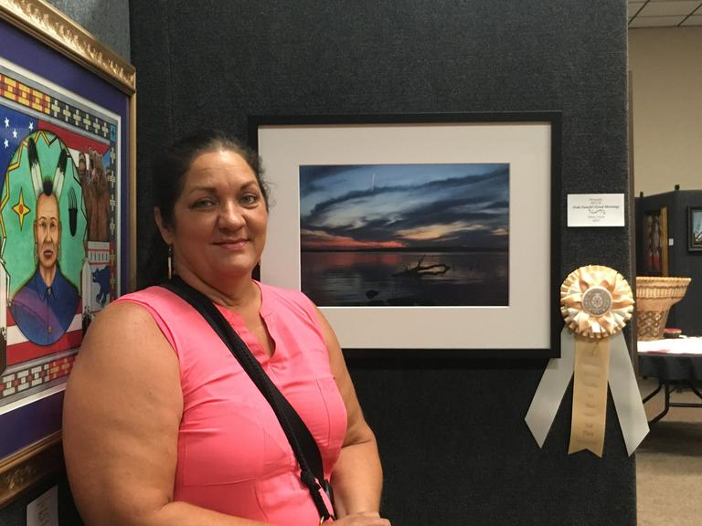 Marcy Scott 2nd Place Photography Cherokee Holdiay Art Show 2016